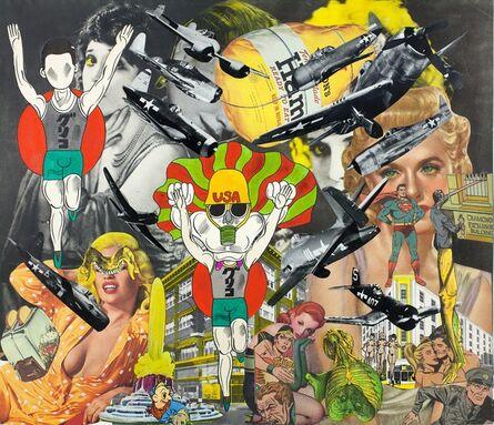 Keiichi Tanaami, 'Collage Book7_45 (1969-1975)', 1971