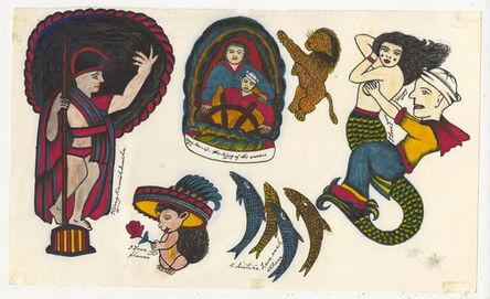 Rosie Camanga, 'Untitled (Sailor Riding Mermaid)', 1950-1980