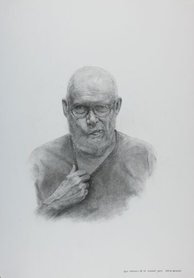 David Becker (b.1937), 'Self Portrait @ 80, August 2017', 2017