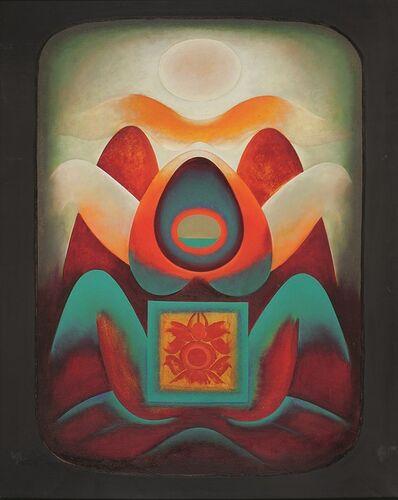 Gulam Rasool Santosh, 'Untitled (Shiva-Shakti Series)', 1971