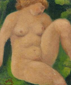 Aristide Maillol, 'Baigneuse assise', ca. 1930