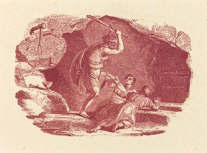 Thomas Bewick, 'Murder Scene'