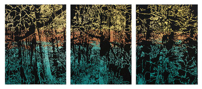 Lucinda Luvaas, 'Forest Triptych', 2011