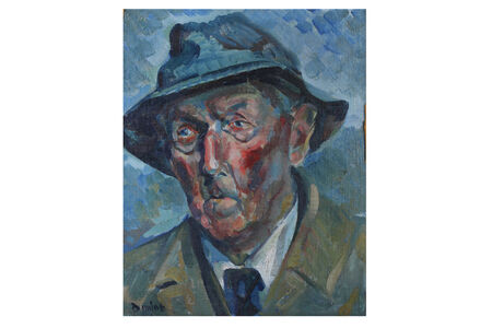 Ronald Ossory Dunlop, 'Portrait of a man'