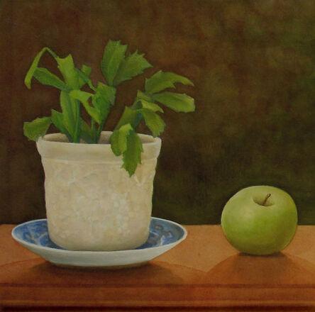 Lauren Sweeney, 'Christmas Cactus with Green Apple', 2015