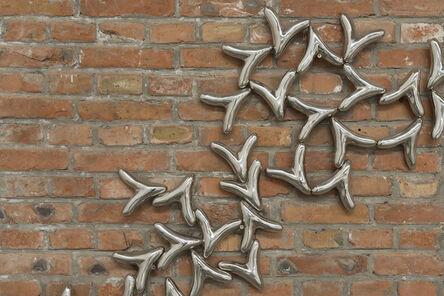 Loris Cecchini, 'Aerial roots on improvised display', 2013