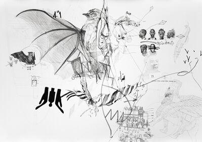 Nidhal Chamekh, 'Le Battement des Ailes A', 2017