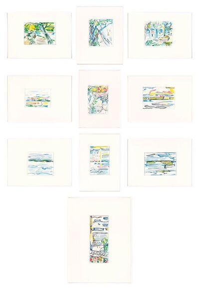 Roy Lichtenstein, 'Landscape Sketches', 1986