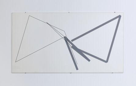 Manfred Mohr, 'P-495-2', 1995