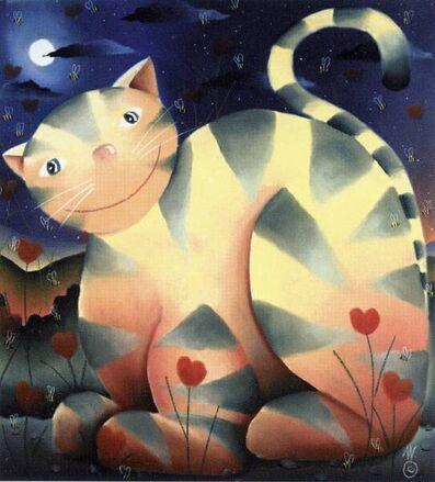 MacKenzie Thorpe, 'Love Cat ', 2004