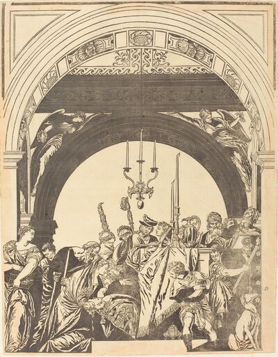John Baptist Jackson after Veronese, 'The Presentation in the Temple (The Circumcision)', 1739