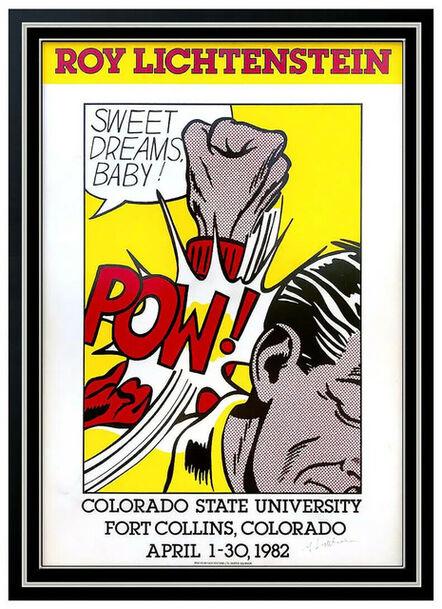 Roy Lichtenstein, 'Sweet Dreams Baby!', 1982