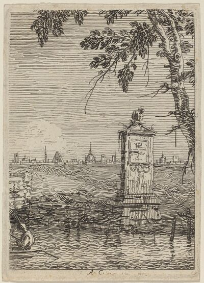 Canaletto, 'The Little Monument', ca. 1735/1746