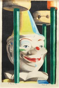 Charles Bell, 'Rolly Polly Clown', 1983