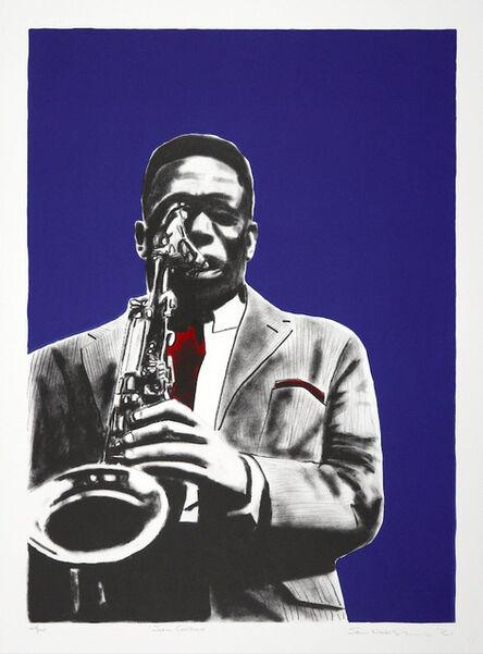 Sam Nhlengethwa, 'John Coltrane', 2021