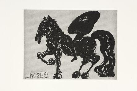 William Kentridge, 'Nose 8', 2008
