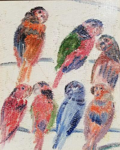 Hunt Slonem, 'Lories', 2005