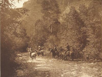 Edward S. Curtis, 'A Mountain Fastness - Apsaroke', 1907-1930