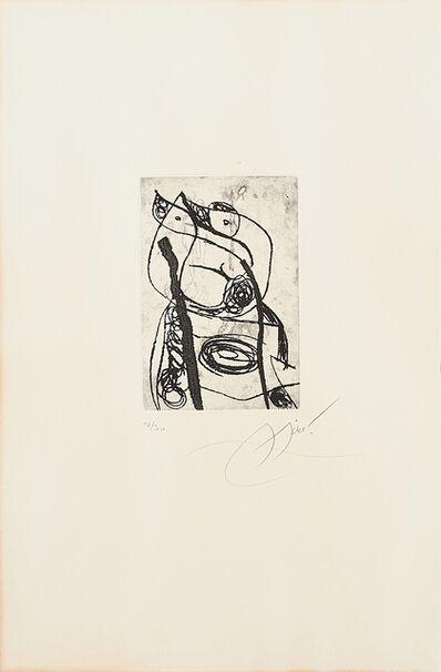 Joan Miró, 'Les Saltimbanques', 1975