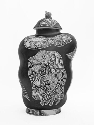 Kurt Weiser, 'Black and White Vase 2', 2019
