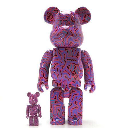 Keith Haring, 'Version #2 Medicom 400% & 100% Be@rbrick Set', 2018