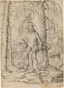 Wolf Huber, 'Saint Sebastian', possibly 1509