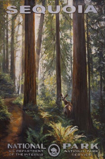Jennifer Johnson, 'Sequoia National Park - Congress Last Light', 2020