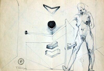 Franciszek Starowieyski, 'Untitled', ca. 1990