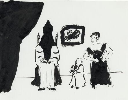 William Wegman, 'Dramatic Scene', ca. 1980