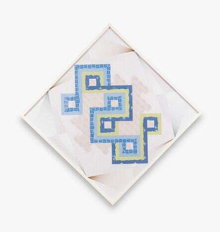 Haegue Yang, 'Diagonal Stitches – Trustworthy #290', 2016