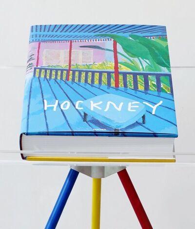 David Hockney, 'A Bigger Book', 2017