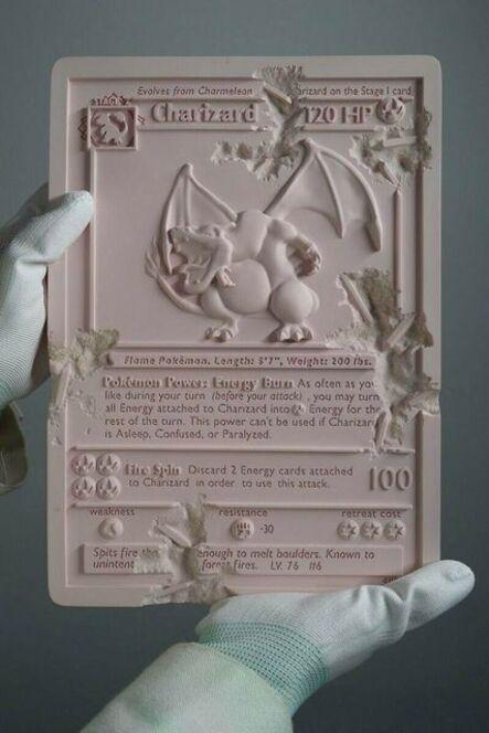 Daniel Arsham, 'Pink Crystalized Charizard', 2021