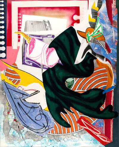 """Frank Stella, 'From """"The Waves"""" : Moby Dick - CTP2', 1989"""