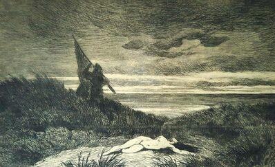 Félicien Rops, 'Le Werwolf', 1868
