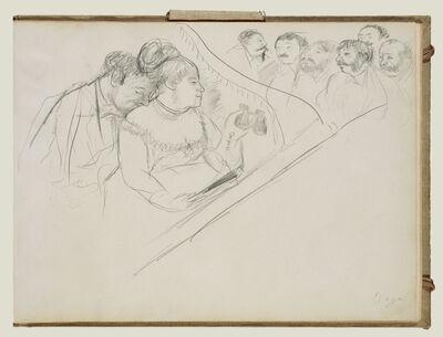 Edgar Degas, 'Opera Boxes', 1877