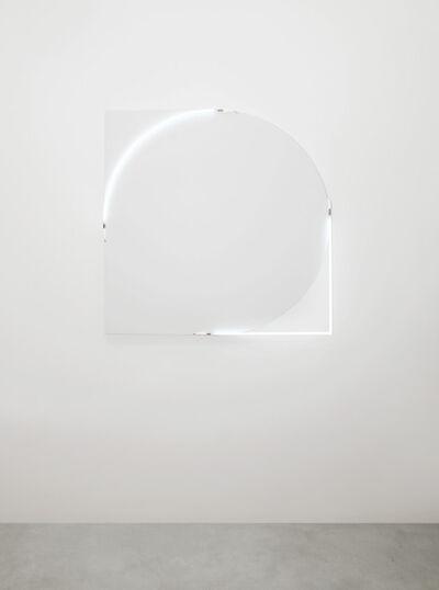 François Morellet, 'Ni rond, ni pointu, ni carré n°2', 2011
