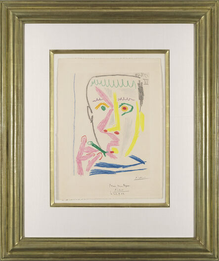 Pablo Picasso, 'Fumeur. II', 1964