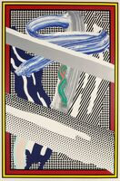 Roy Lichtenstein, 'Reflections on Expressionist Paintings, from The Carnegie Hall 100th Anniversary Portfolio', 1991