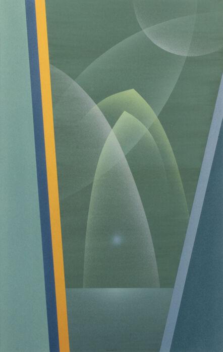 Raymond Jonson, 'Watercolor No.9, 1948 - Sequence-A Trilogy, Second Vista ', 1948