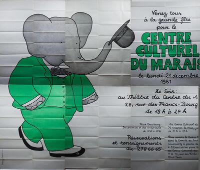 Laurent de Brunhoff, 'Culture Center Le Marais', 1981