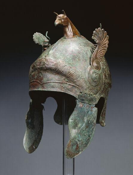 'Helmet of Chalcidian Type', 350 -300 BCE