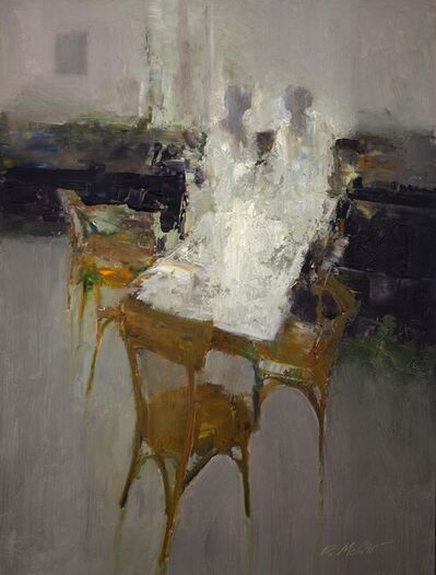 Dan McCaw, 'Anticipation ( who will be the first to arrive? )', 2021
