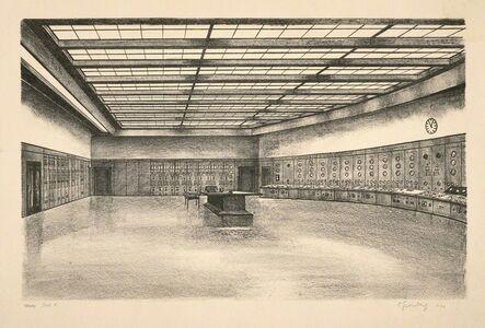 Carl Grossberg, 'Warte (BEWAG, Berlin)', 1930