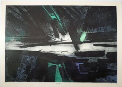 Gabor Peterdi, 'THE STORM', 1958