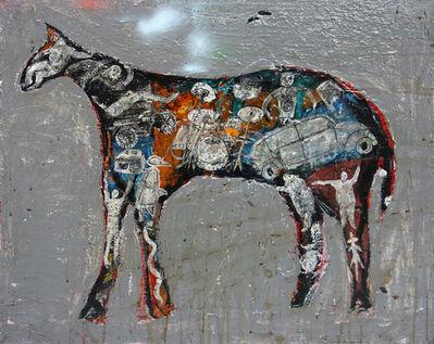 Casey McGlynn, 'Grey Horse', 2017