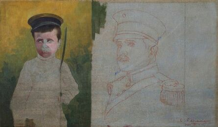 Saturnino Herran, 'Niño Soldado', 1917