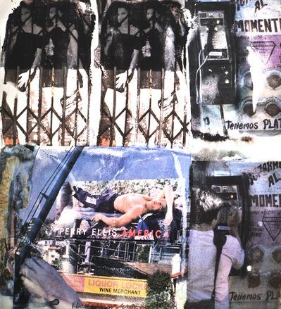 Robert Rauschenberg, 'L.A. Uncovered #4', 1998