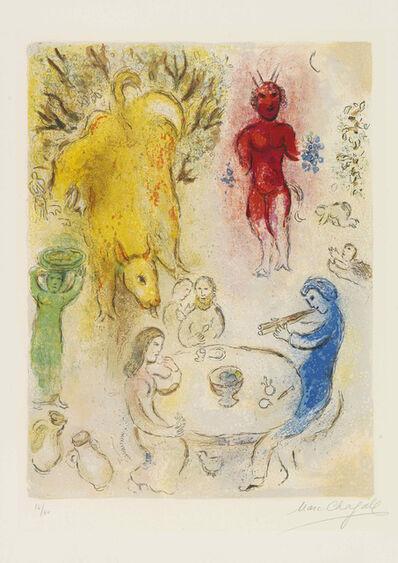 Marc Chagall, 'Banquet de Pan', 1961