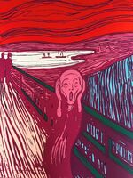 Andy Warhol, 'The Scream Pink - Sunday B. Morning (After)'