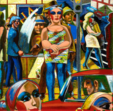 Jack Gerber, 'Day in the City', 2019